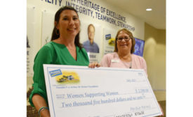 Breast Cancer Survivors Women Supporting Women Maryland Perdue Donation