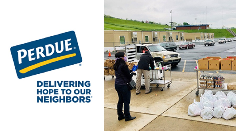 Perdue Donations to Blue Ridge Area Food Bank