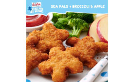 Breaded Shrimp Appetizers Snacks Frozen SeaPak Shrimp Sea Pals Turtle Starfish Shaped