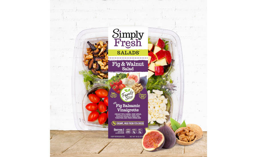 Costco Salad Kit Fig and Walnut Simply Fresh
