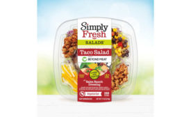 Beyond Meat Taco Salad RTE Simply Fresh FiveStar Foods