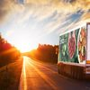Sysco Truck Sunset