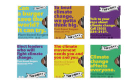 Climate Change Activism Plant-Based Burgers Tofurky Packaging