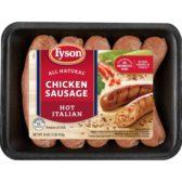 Hot Italian Sausage Chicken Tyson