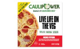 Uncured Pepperoni Cauliflower Crust Stone Fired Pizza Caulipower