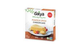 Dairy Free Seasonal Fall Pumpkin Spice Cheesecake Daiya