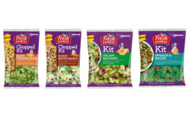Bacon Salad Kits Thousand Island Ranch Italian Balsamic Fresh Express