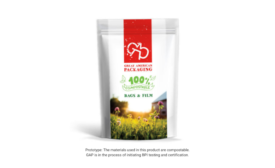 Compostable Packaging Food Pouch Great American
