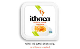 Buffalo Ranch Hummus Super Bowl Snacking Ithaca Hummus