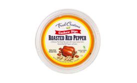 Vegan Cashew Dips Roasted Red Pepper Fresh Creations