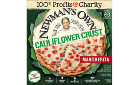 Cauliflower Crust Pizza Margherita Newman's Own