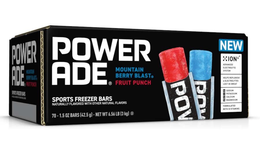 Powerade Functional Sports Popsicles