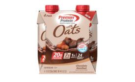 Functional Beverages Whole Grain Oats Premier Protein Chocolate Hazelnut Shake