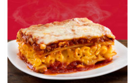 Mac and Cheese Lasagna Mashup Stouffer's