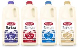 Barista Milk Foaming Organic Straus Family Creamery