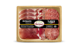Italian Antipasto Sliced Meat Veroni Sustainable Packaging Trays