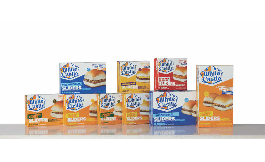 White Castle Frozen Sliders Grocery New Packaging 2021