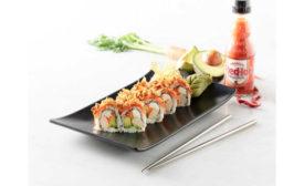 Buffalo Chicken Maki Frank's RedHot Hissho Sushi Grocery