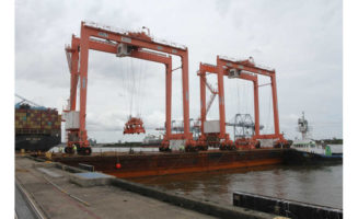 Intermodal Crane Port of Mobile Alabama