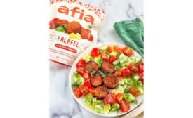 Falafel Sun Dried Tomato Frozen Afia Austin Texas