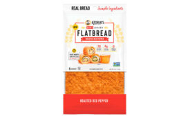 Lavash Flatbread Roasted Red Pepper Atoria's Family Bakery Package Front