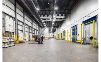 Cold Storage Warehouse Docks Whole Foods Distribution Center Cheshire Connecticut