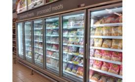 Frozen Chicken Retail Grocery Freezercase