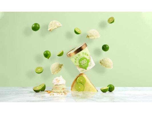 Key Lime Pie Ice Cream Limited Edition Halo Top