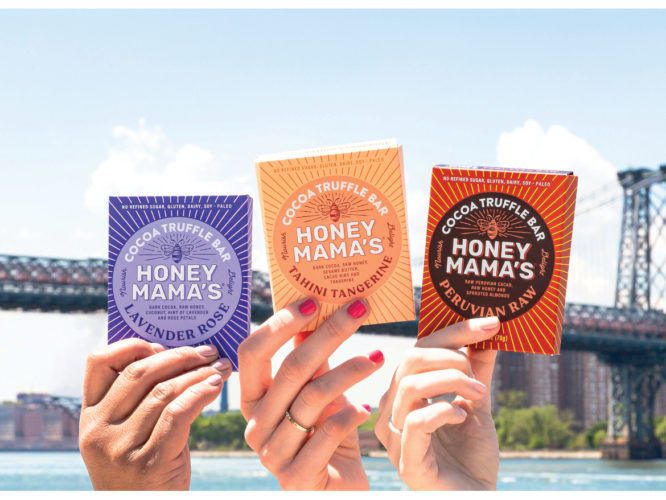 Cocoa Truffle Refrigerated Snack Bars Honey Mama's Woman Owned Whole Foods