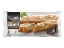 Truffle Butter Baguette Country Style Julian's Recipe Frozen Bread