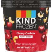 Plant Based Frozen Dessert Cherry Cashew KIND