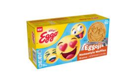 Emoji Shaped Waffles Eggo Kellogg's Kids Breakfast Frozen