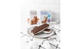 Zero Sugar Ice Cream Sandwiches Chocolate Vanilla Killer Creamery