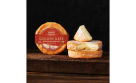 Marin County California Golden Gate French Cheese Washed Rind Triple Creme