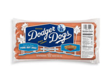 Dodger Dog Los Angeles Dodgers Stadium Hot Dog Papa Cantella's Grocery