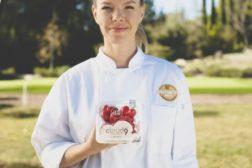 Chef Holding Cloud Nine Tomatoes
