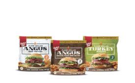 Flame Grilled Burgers Angus Beef Turkey Patties Quick 'N Eat Walmart