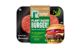 Plant Based Burger Tyson Raised Rooted