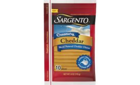 Creamery Sliced Natural Cheddar Cheese Sargento