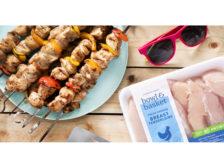 Grilled Chicken Kabobs Summer Barbecue ShopRite Bowl & Basket