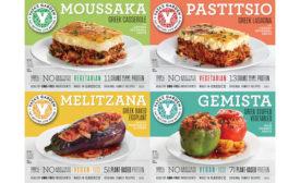Greek Cuisine Frozen Meals Yaya's Garden Whole Foods