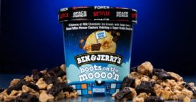Ben & Jerry's Netflix Space Force Flavor
