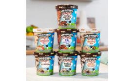 Ben Jerry's Ganache Topped Ice Cream Frozen Dessert
