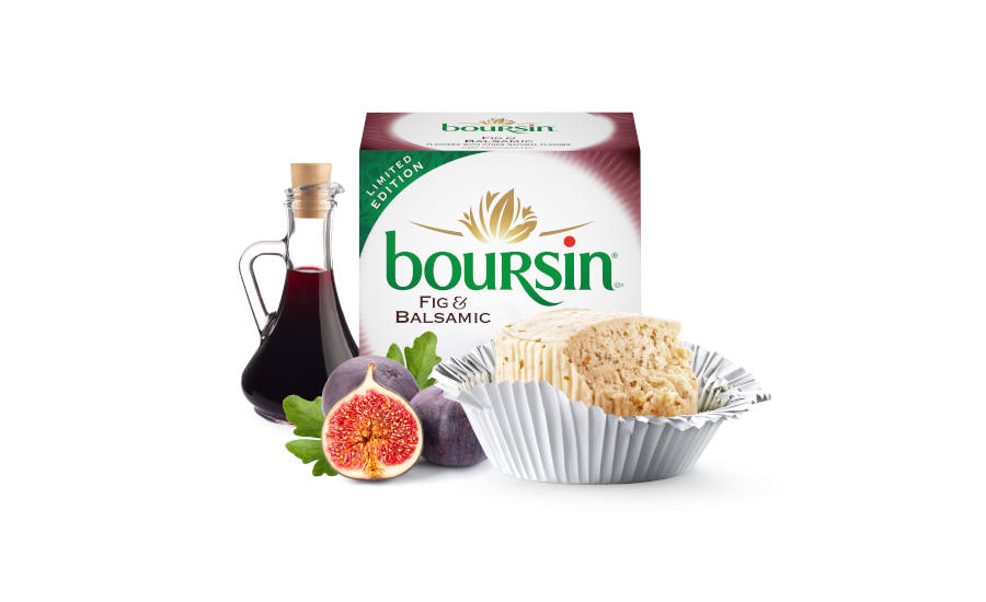 Boursin Cheese Fig Balsamic Seasonal Limited Bel Brands