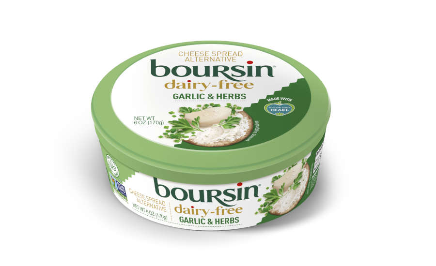 Dairy Free Cheese Spread Snacks Boursin Garlic Herb