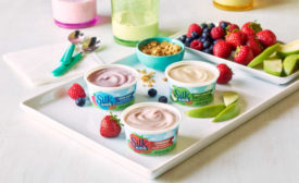 Kids Snacks Almond Milk Yogurt Dairy Free Silk Danone