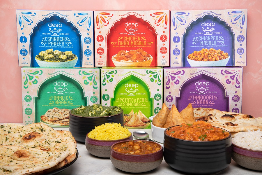Deep Indian Kitchen Direct To Consumer Shipping Frozen Indian Meals
