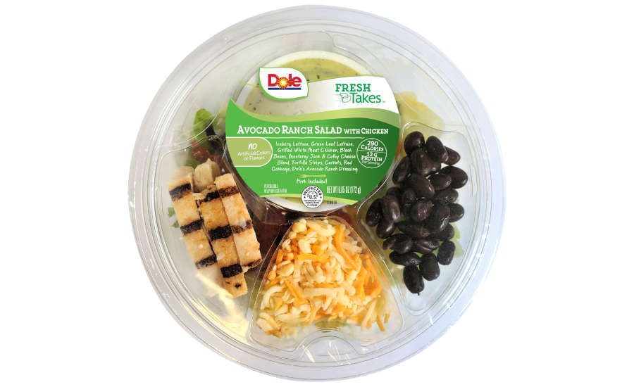 Ready to Eat Salads Dole New Flavors