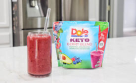 Dole Keto Berry Blend Frozen Smoothie