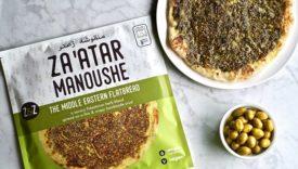 Za'atar Manoushe Middle Eastern Flatbread